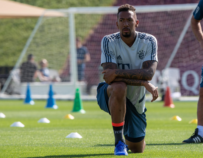 Jerome Boateng stand 2018 vor einem Wechsel - doch der zerschlug sich aufgrund einer Panne.