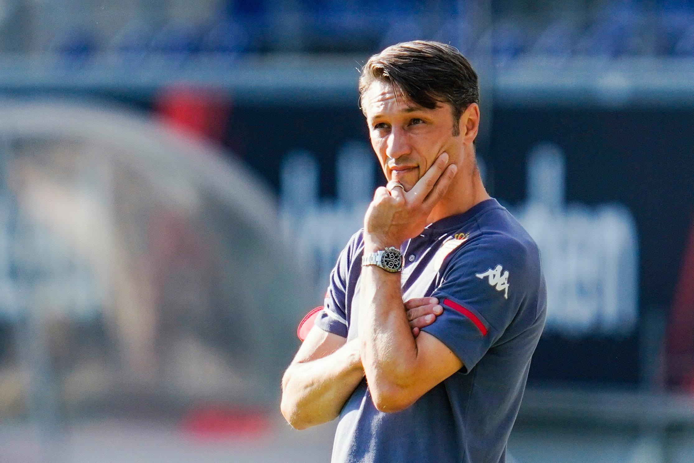 Niko Kovac darf wegen eines positiven Covid-Tests nicht mehr an der Seitenlinie stehen.