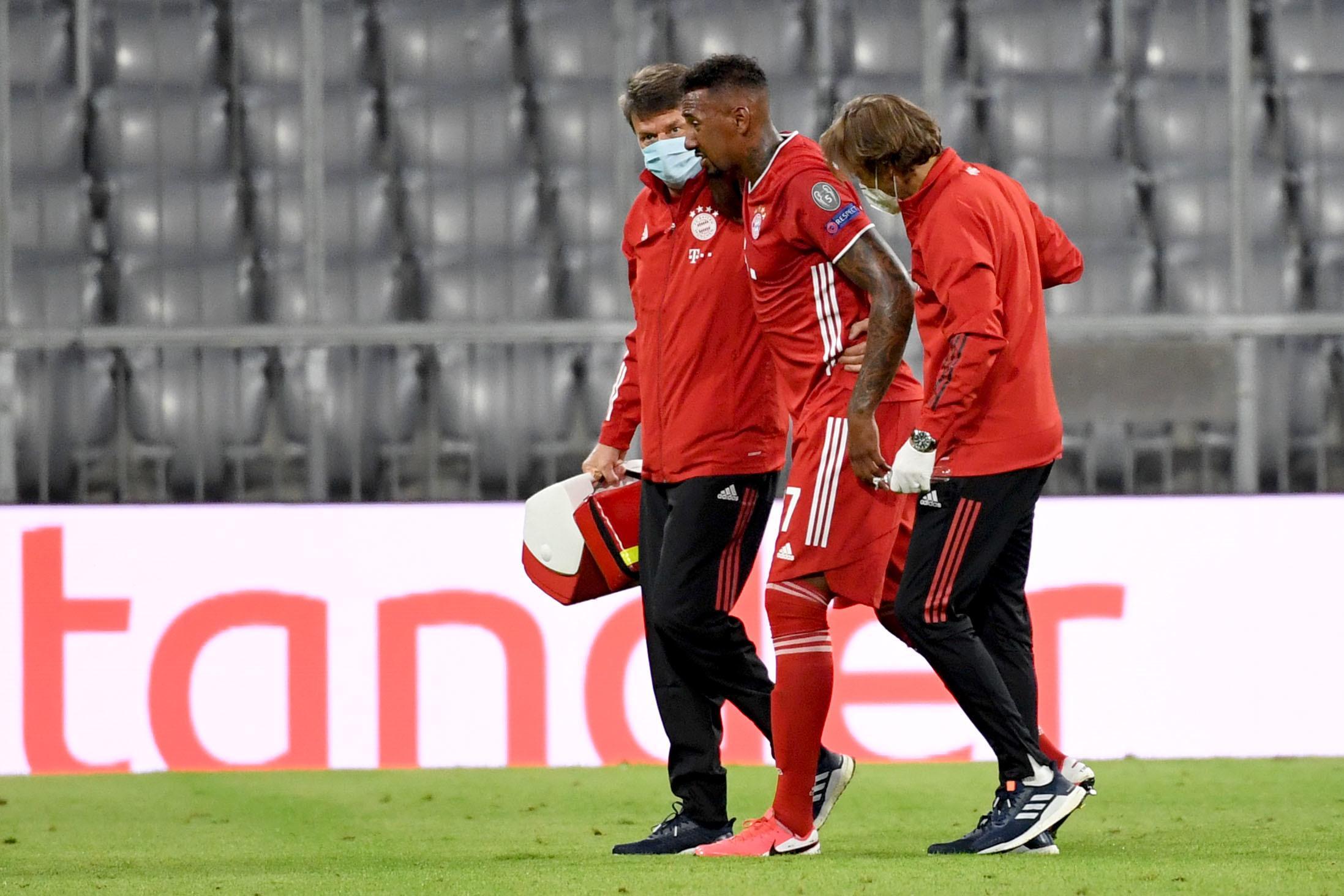 Verletzt raus: Jerome Boateng vom FC Bayern.