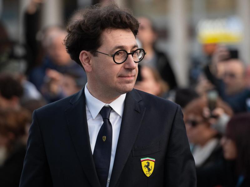 Mattia Binotto ist der Teamchef der Scuderia Ferrari. Foto: Espa Photo Agency/CSM via ZUMA Wire/dpa