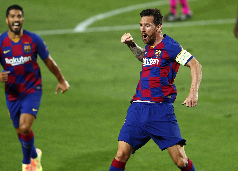 Lionel Messi machte beim Sieg gegen den SSC Neapel ein überragendes Spiel.