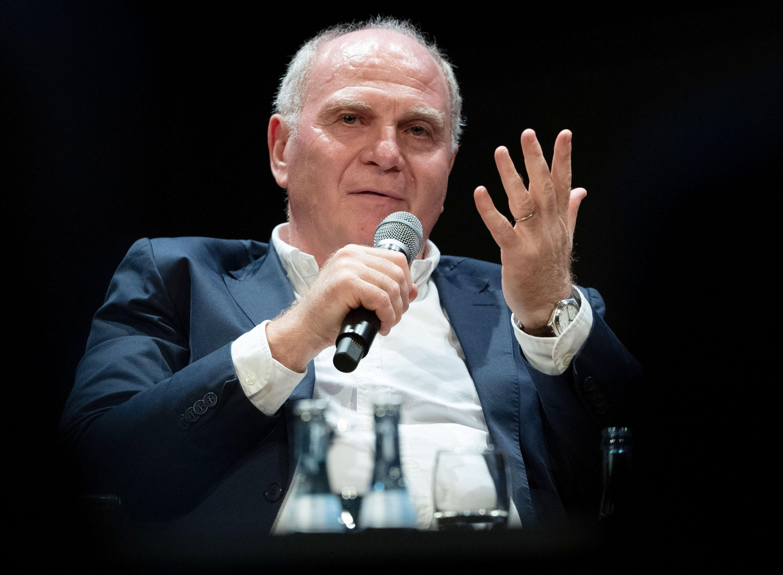 Ehrenpräsident des FC Bayern: Uli Hoeneß.