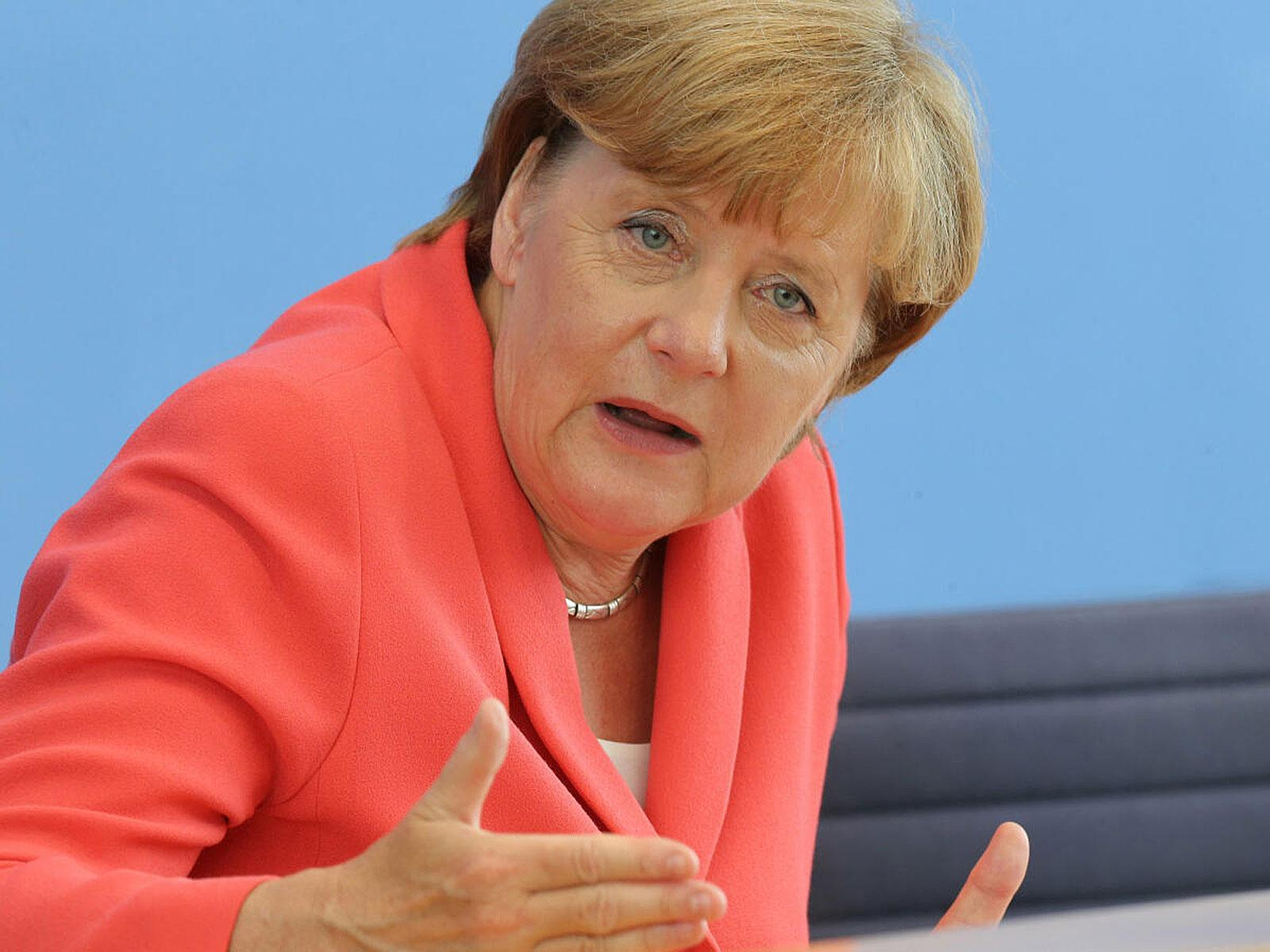 Thomas Berhold hat kein großes Vertrauen mehr in die Politik von Angela Merkel.