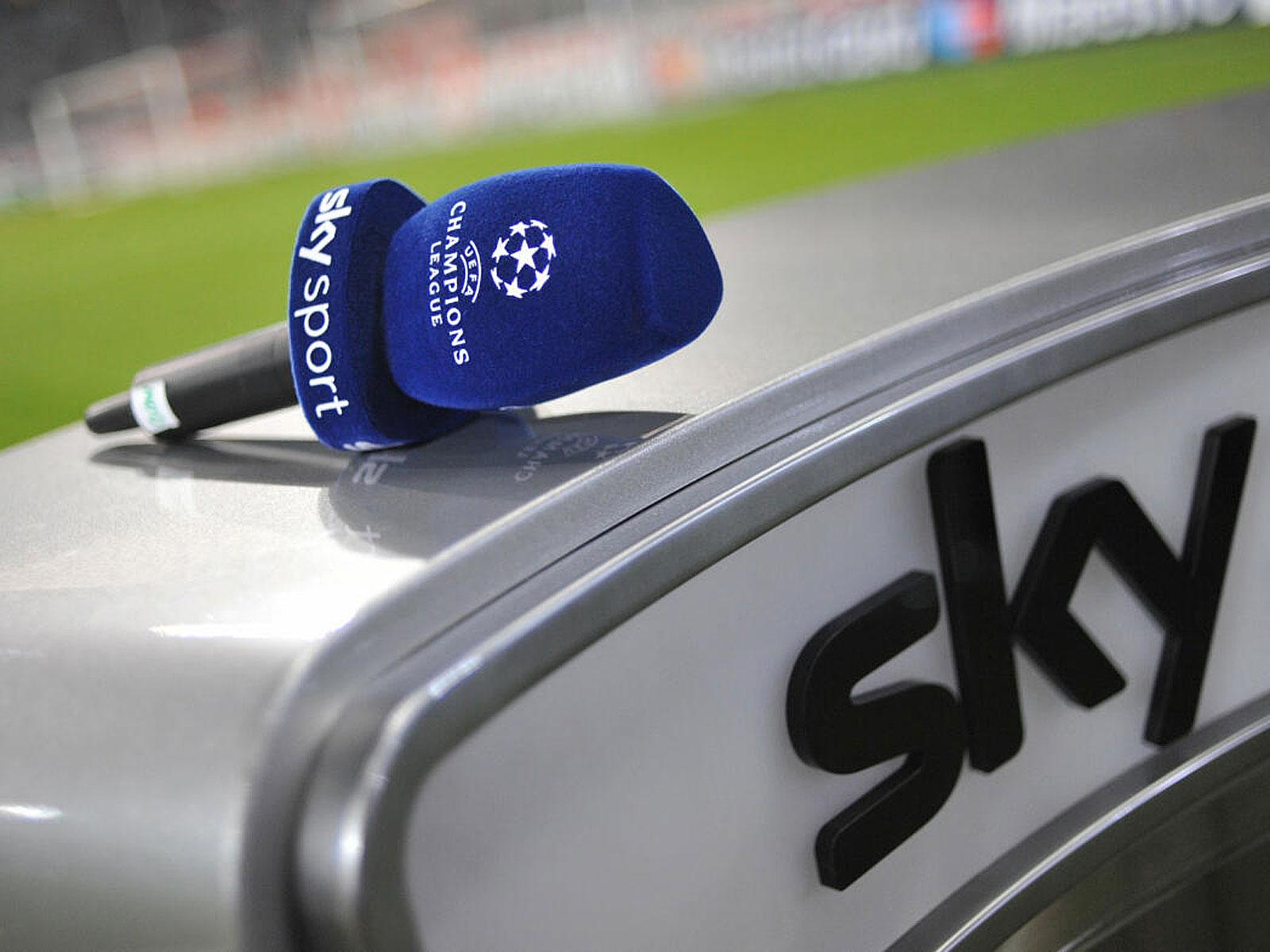 Bei Sky kam es im Vorfeld der CL-Partie zwischen dem FC Bayern und Chelsea zu einem kuriosen Vorfall.