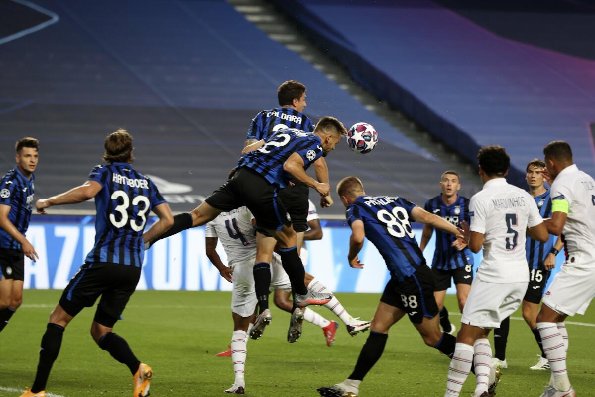 PSG und Atalanta lieferten sich einen wahren Fight