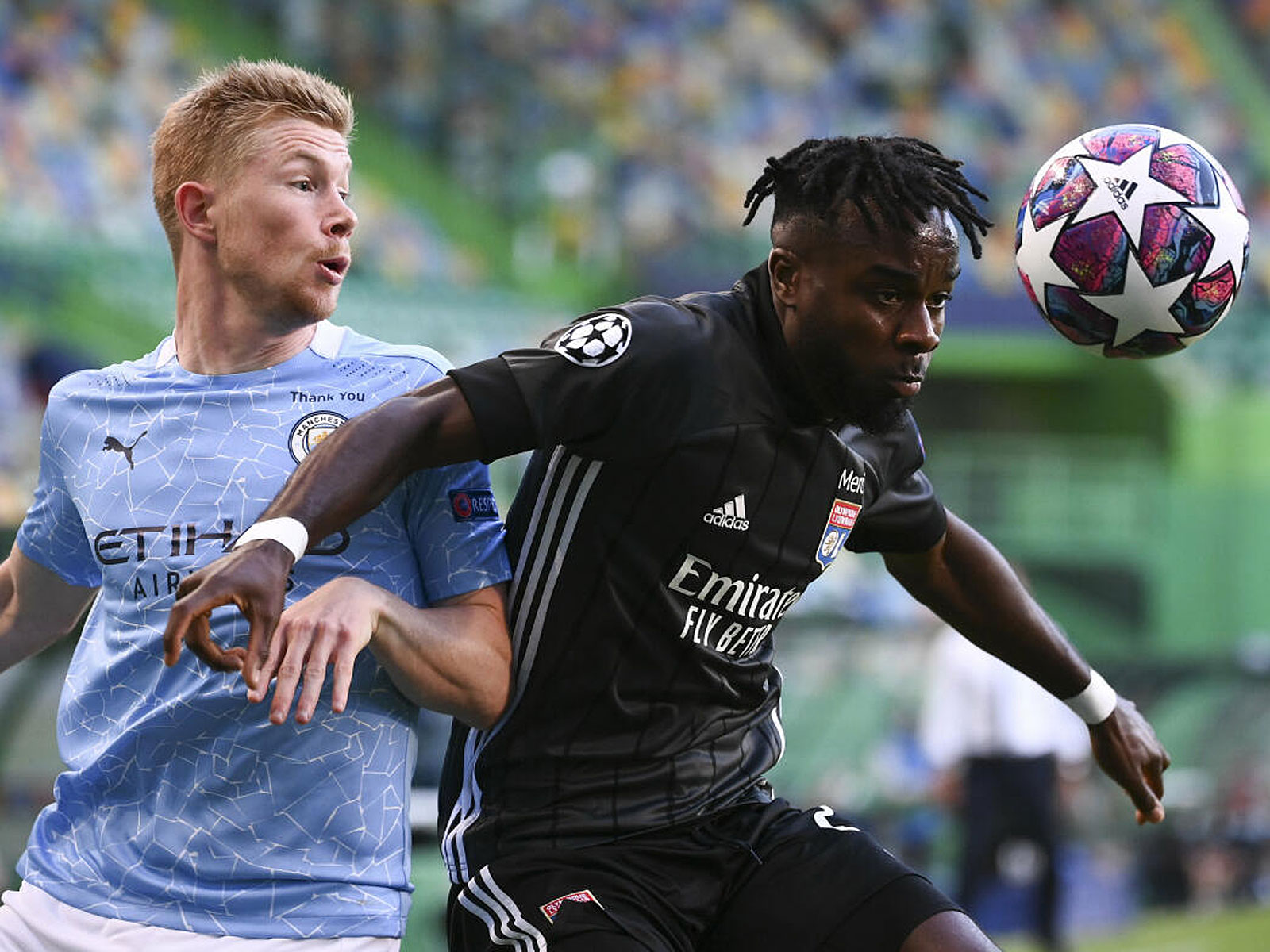 Manchester City kämpft gegen Olympique Lyon um den Einzug ins CL-Halbfinale.