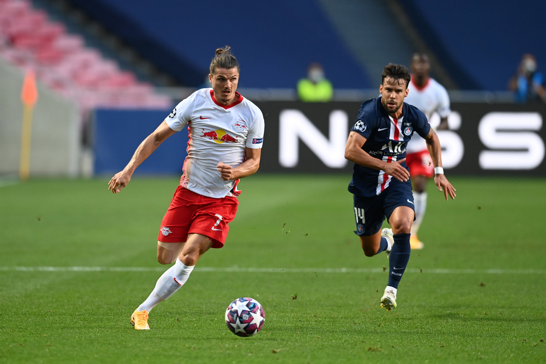 Marcel Sabitzer und RB Leipzig spielen gegen PSG um den Finaleinzug.