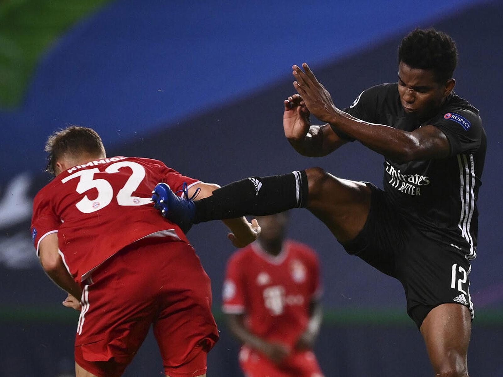 Joshua Kimmich steht mit dem FC Bayern im Finale der Champions League.