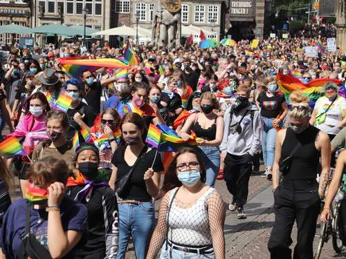"""Christopher Street Day"": Demo statt Party"