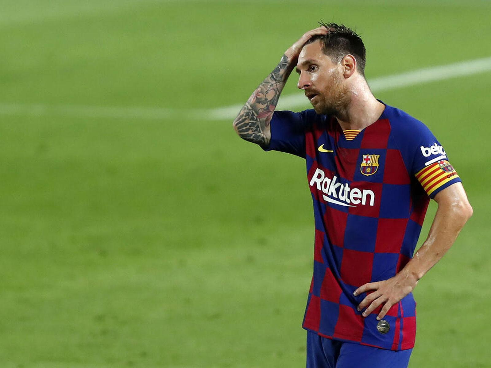 Lionel Messi wird den FC Barcelona wohl nach 20 Jahren verlassen.