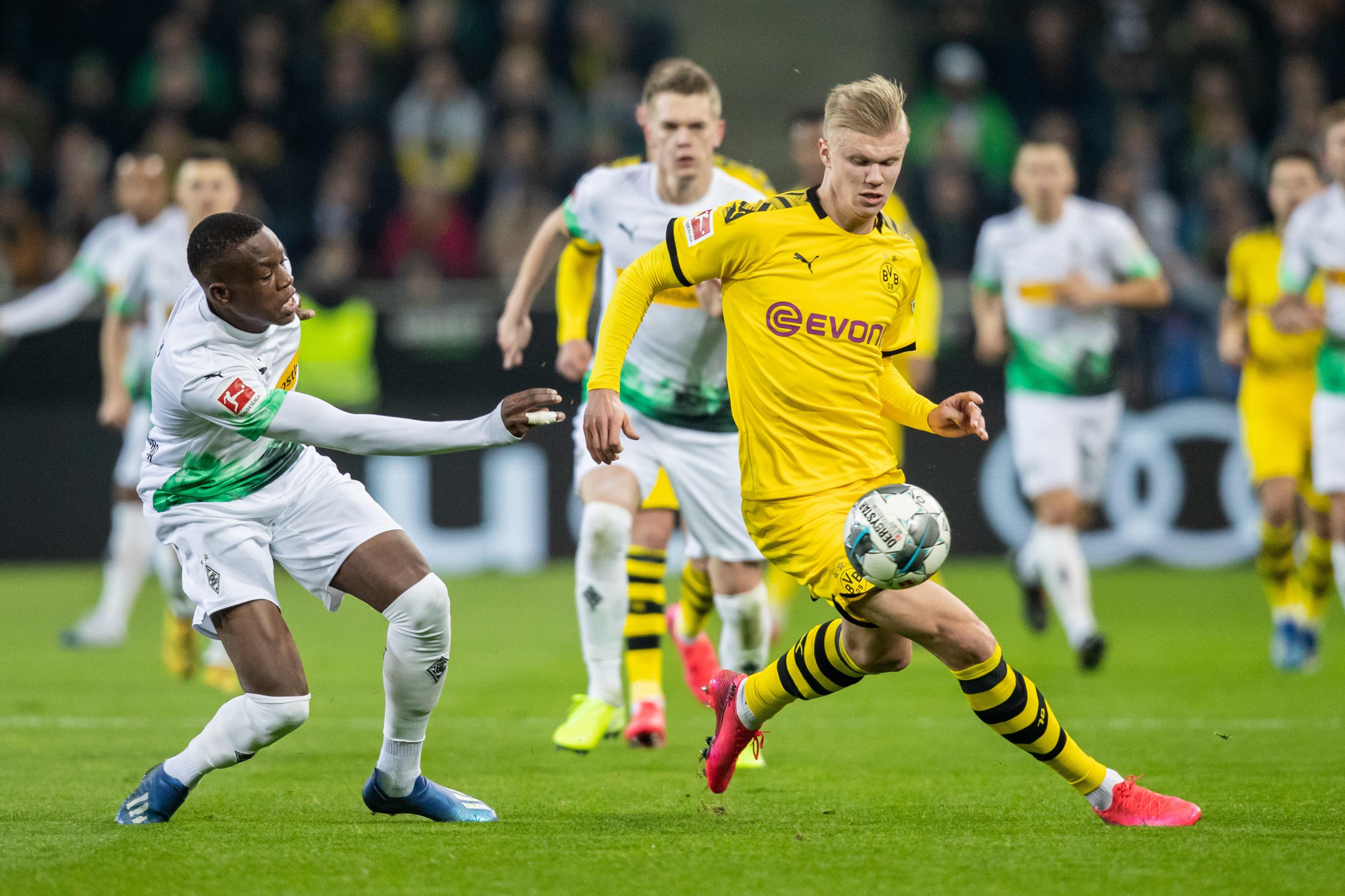 Erling Haaland und der BVB treffen am 1. Bundesliga-Spieltag der Saison 2020/21 auf Gladbach.