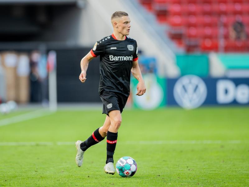 Der 17-jährige Florian Wirtz wurde im Frühjahr dieses Jahres in den Profikader von Bayer Leverkusen aufgenommen. Foto: Rolf Vennenbernd/dpa
