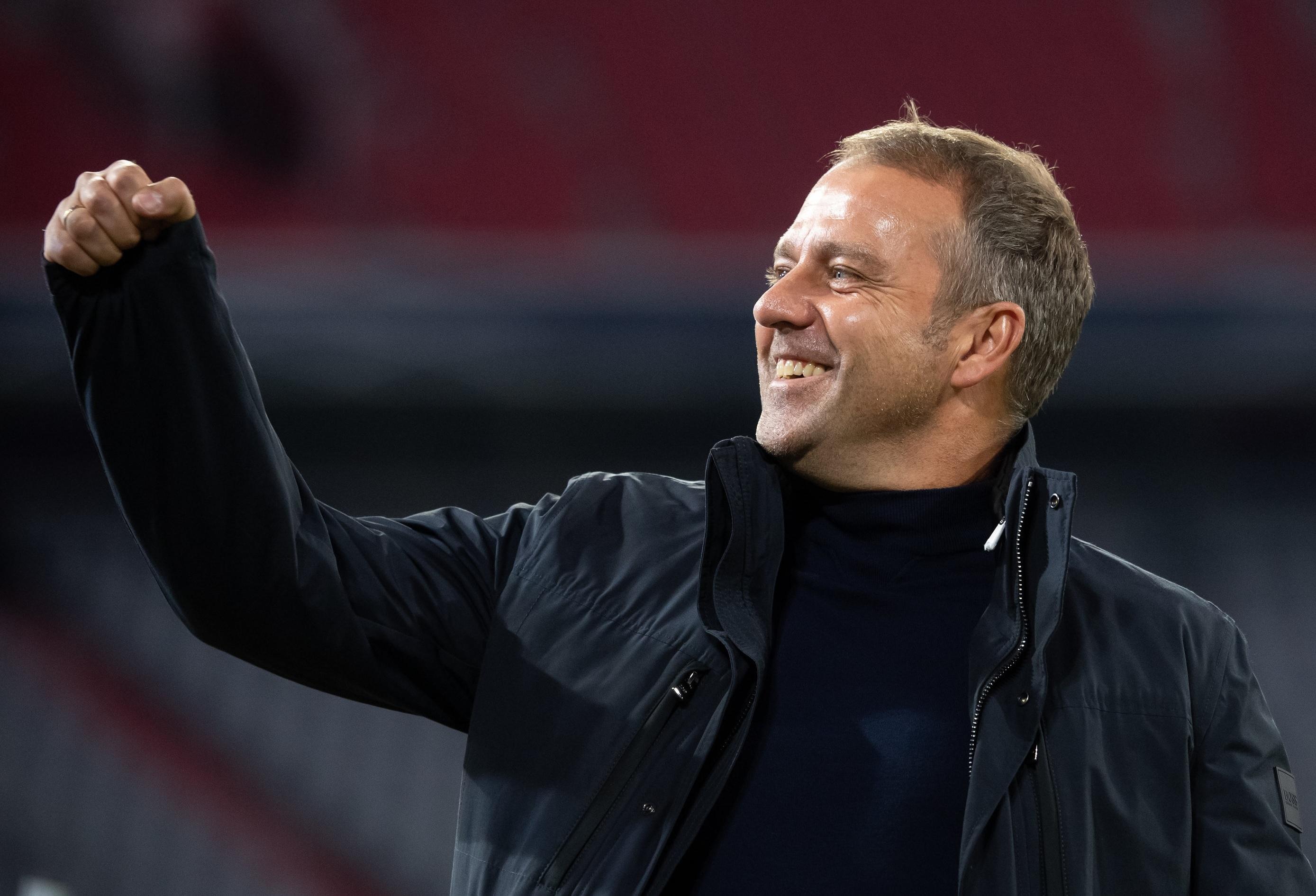 Bayern-Trainer Hansi Flick dürfte mit der CL-Gruppe A zufrieden sein.
