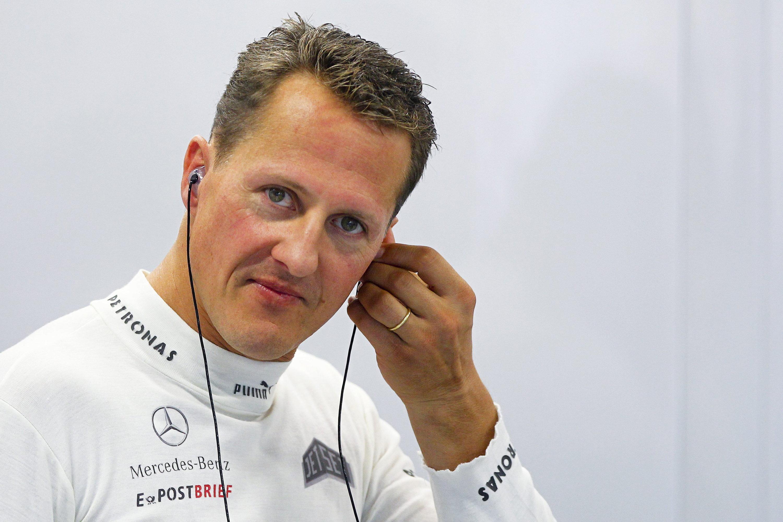 Raupe Nimmersatt? Gerüchten zufolge wollte Michael Schumacher noch für Mercedes weiterfahren.