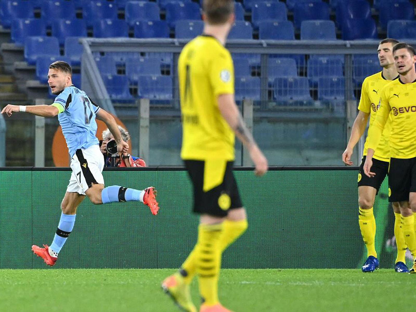 Immobile Lazio Borussia Ciro Immobile Borussia Dortmund Uefa Com