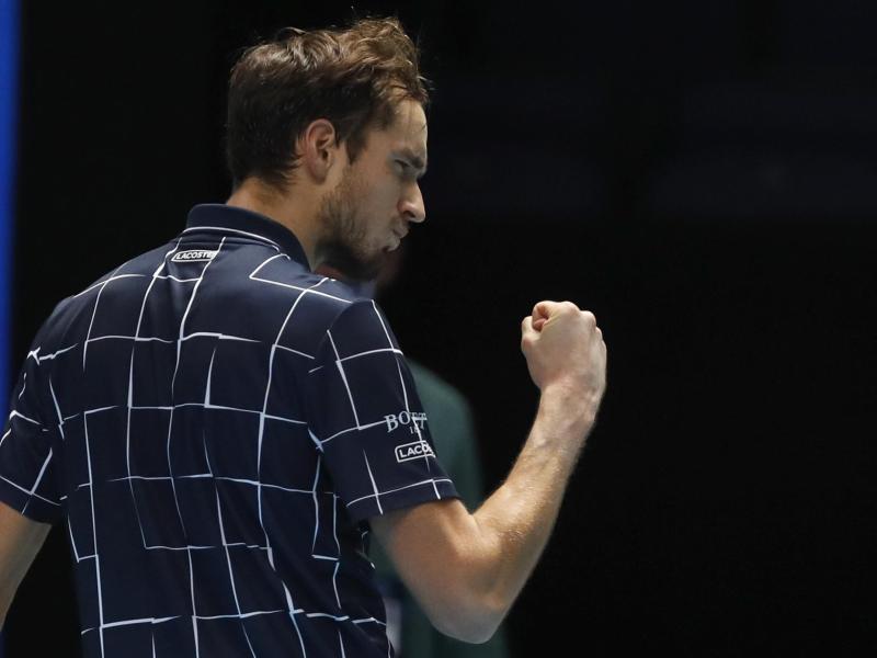 Sieger der ATP Finals 2020: Daniil Medwedew. Foto: Frank Augstein/AP/dpa