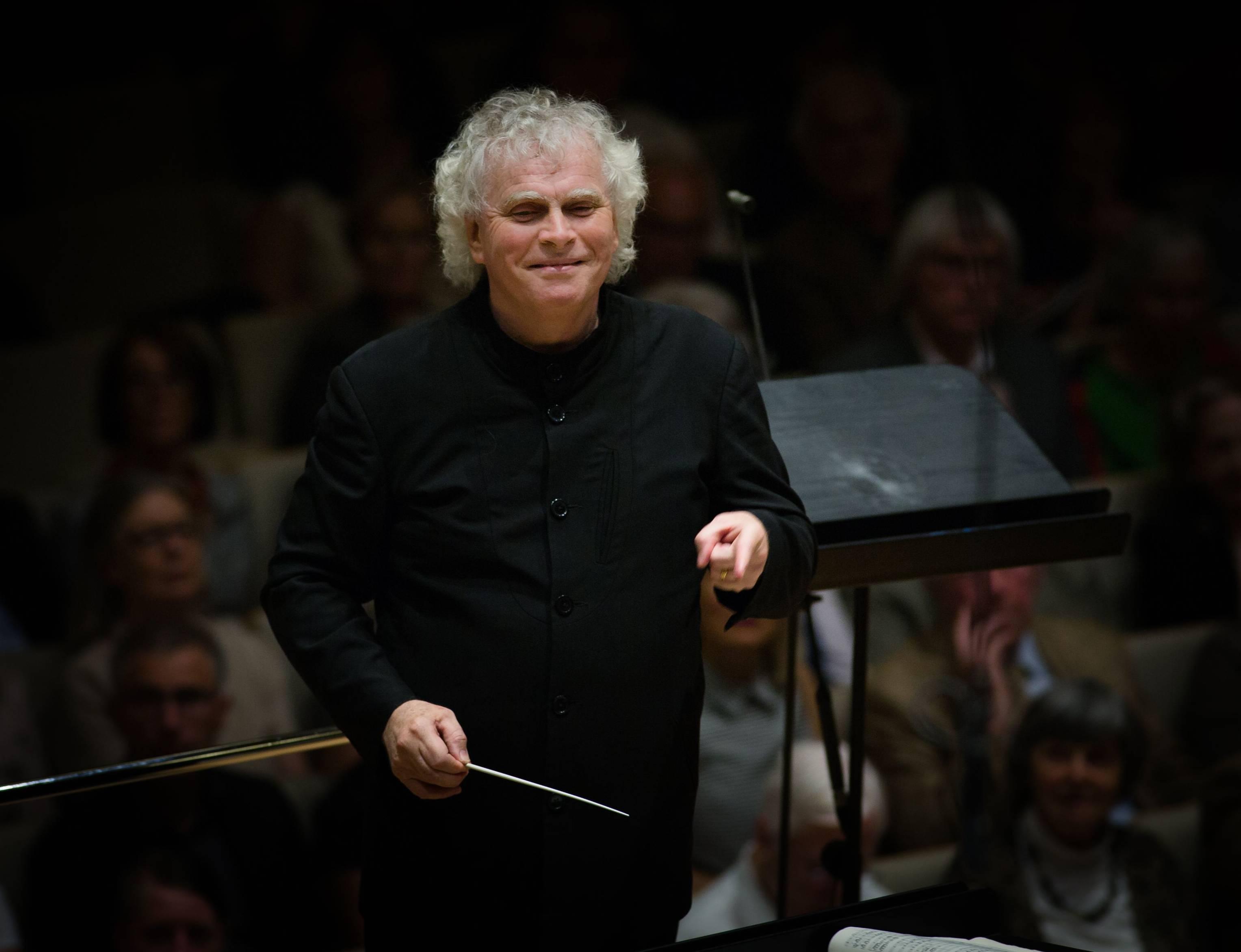 BR-Symphonieorchester: Simon Rattle könnte demnächst zum Nachfolger von Mariss Jansons ausgerufen werden