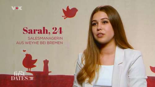 """First Dates"" (Vox): Single Sarah aus Weyhe verzaubert Johannes"