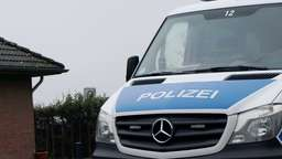 Polizei sichert Coronatests