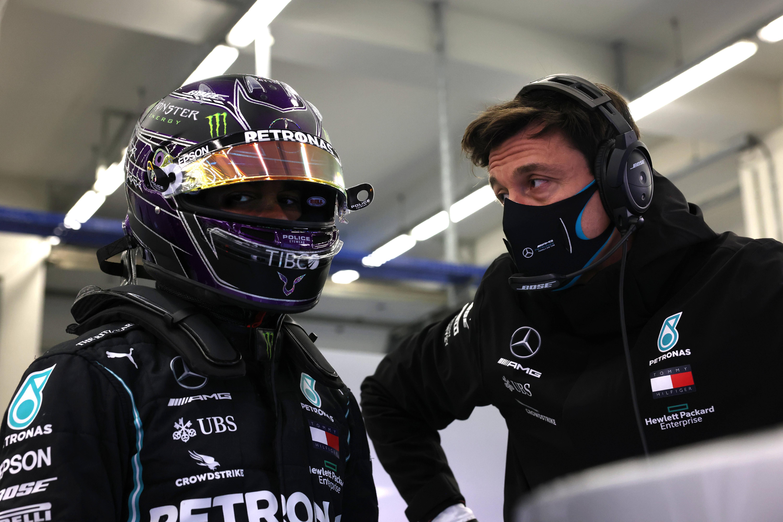 Weiter ein Dreamteam? Lewis Hamilton und Toto Wolff.