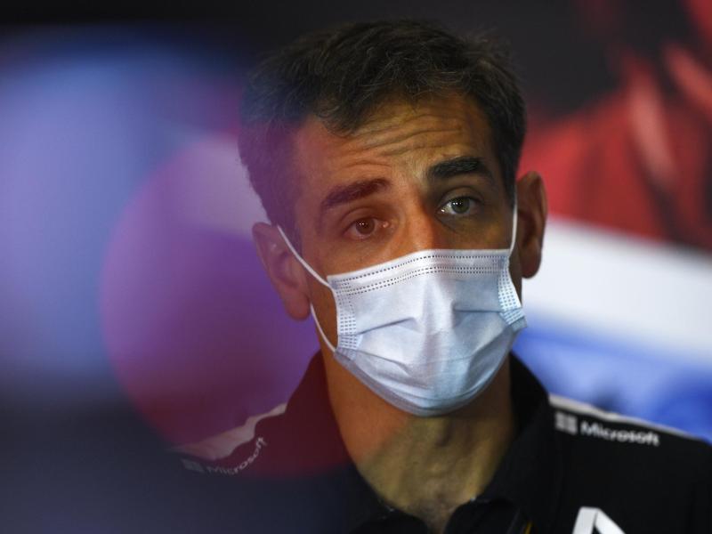 Verlässt das Formel-1-Team von Renault: Teamchef Cyril Abiteboul. Foto: Rudy Carezzevoli/Fia Pool/PA Wire/dpa