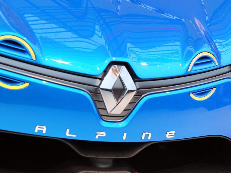 Alpine ist eine französische Sportwagenmarke, die seit den 1970er Jahren zu Renault gehört. Foto: Jens Büttner/DPA/dpa