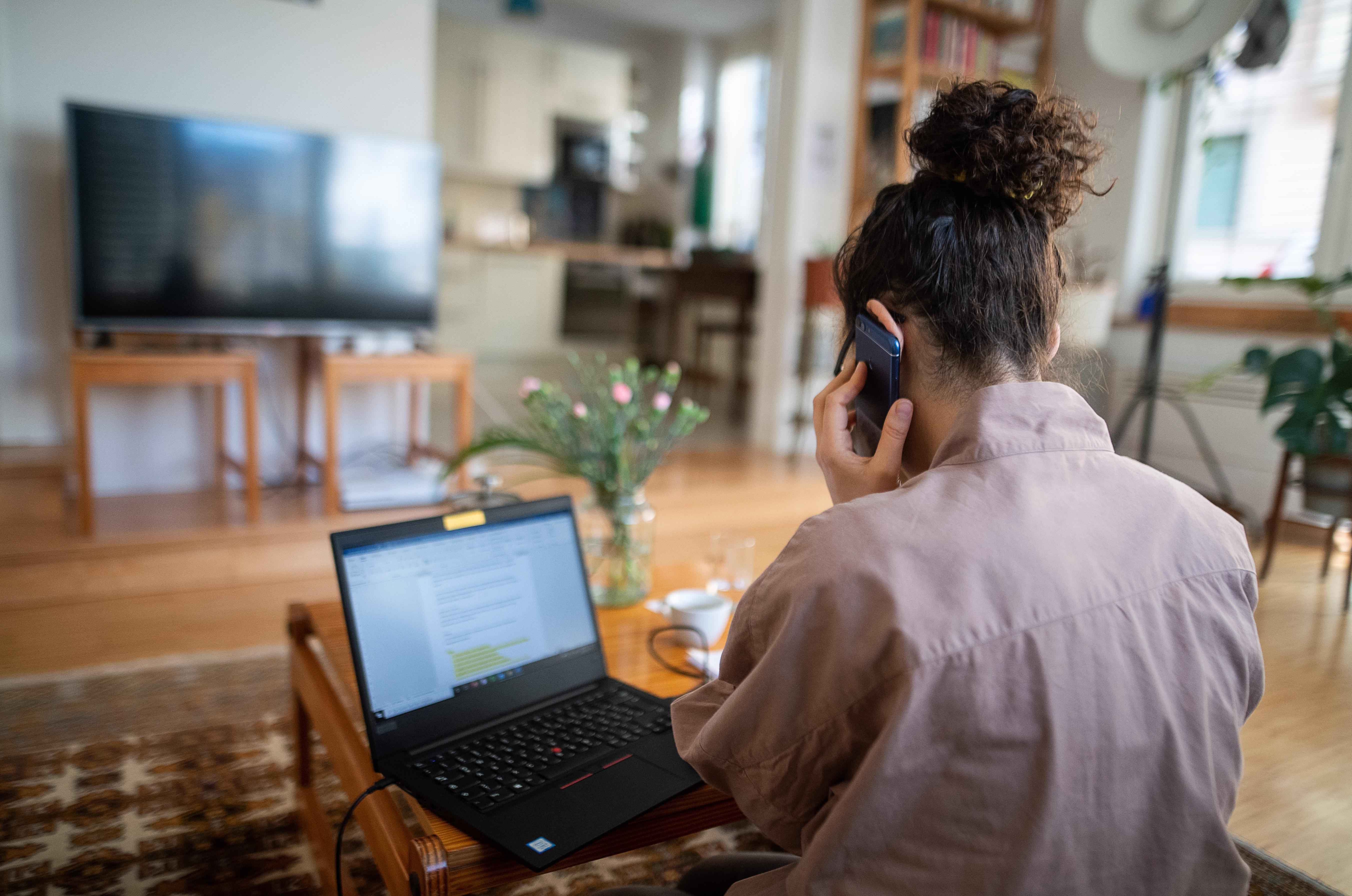 Wer im Homeoffice arbeitet, nutzt in vielen Fällen (auch) den privaten Laptop.