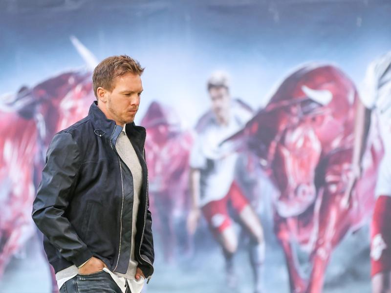 Trifft mit RB Leipzig in der Bundesliga bereits sechs Tage vor dem Pokalfinale auf den BVB: Trainer Julian Nagelsmann.