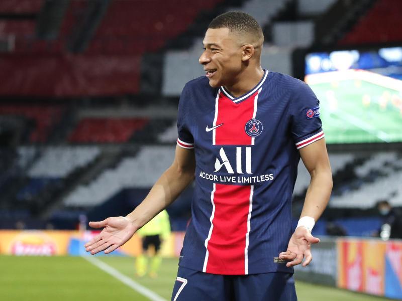 Hatte mit Wadenproblemen zu kämpfen: PSG-Stürmer Kylian Mbappe.