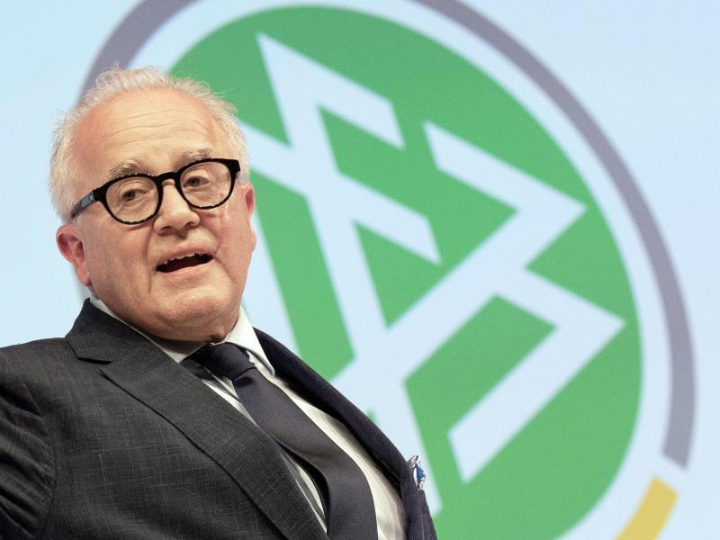DFB-Präsident FritzKeller hat seine Bereitschaft zum Rücktritt erklärt.