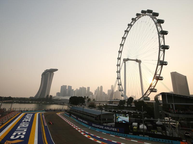 Das Rennen der Formel-1-Weltmeisterschaft in Singapur wurde abgesagt.