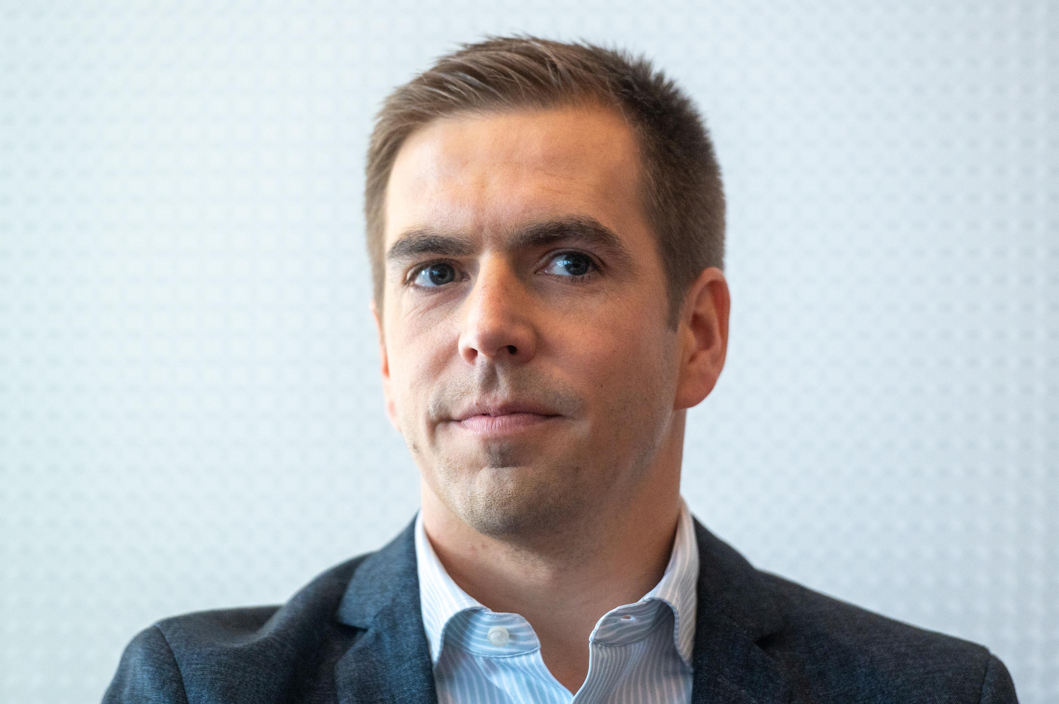 Philipp Lahm blickt auf die kommende EM.