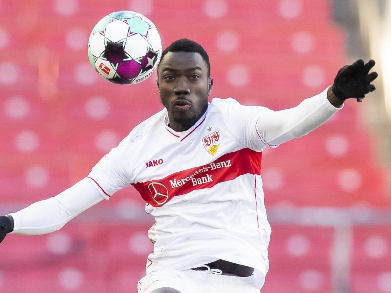 Wurde für drei Monate gespielt: VfB-Angreifer Silas Katompa Mvumpa.