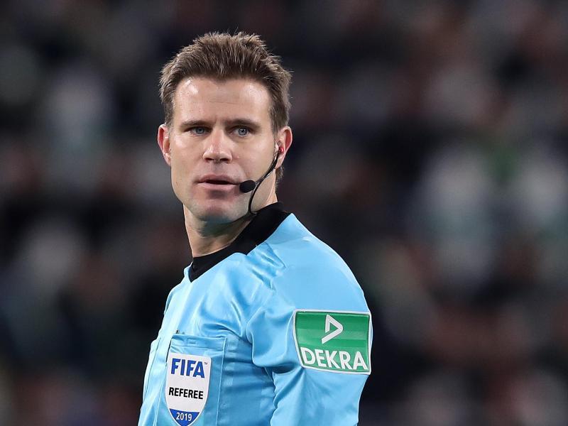 Steht womöglich vor seiner letzten EM: Schiedsrichter Felix Brych.