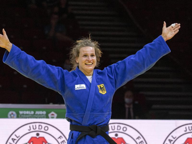 Olympia kann kommen: Anna-Maria Wagner reist als Weltmeisterin nach Tokio.