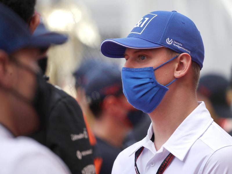 Gab in dieser Saison sein Formel 1-Debüt: Mick Schumacher vom Haas F1 Team.