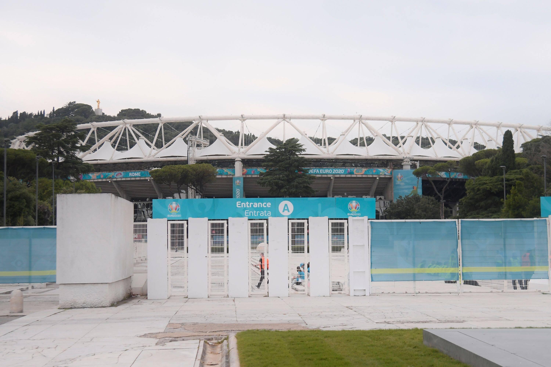 Kurz vor Italien-Spiel bei EM 2021: Nahe des Olympiastadions in Rom gab es einen Bombenalarm.