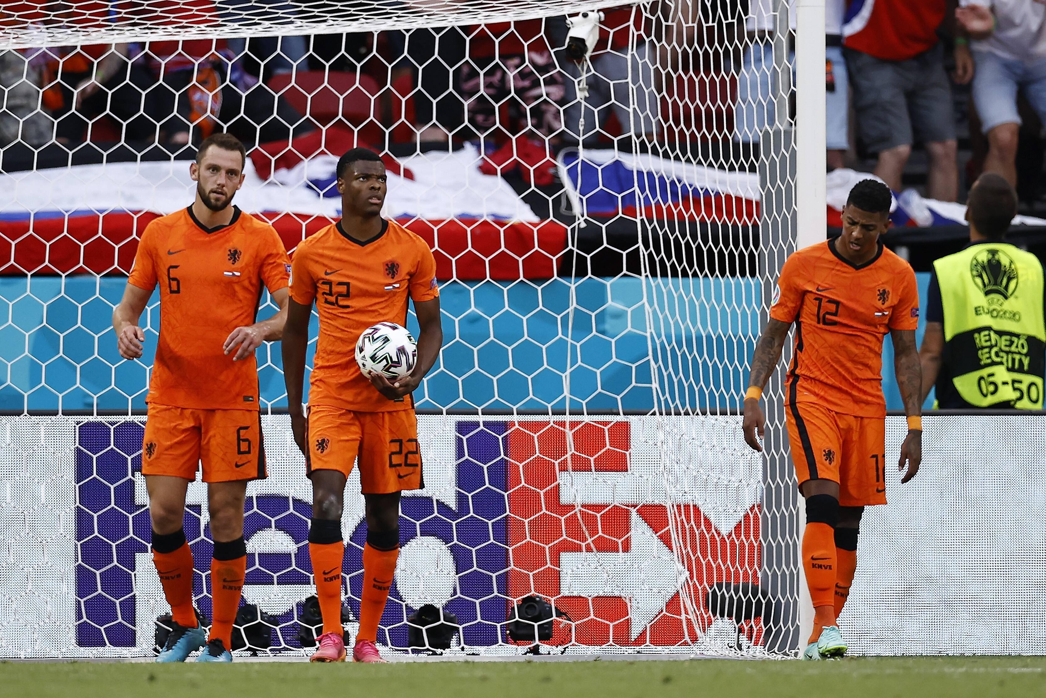 Riesen-Überraschung bei der Fußball-EM 2021: Die Niederlande scheitern an Tschechien.