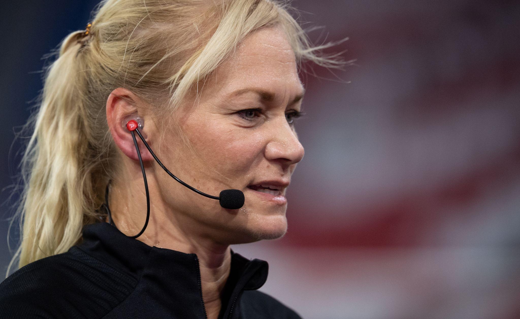 Bibiana Steinhaus-Webb wird als neue DFB-Chefin gehandelt.