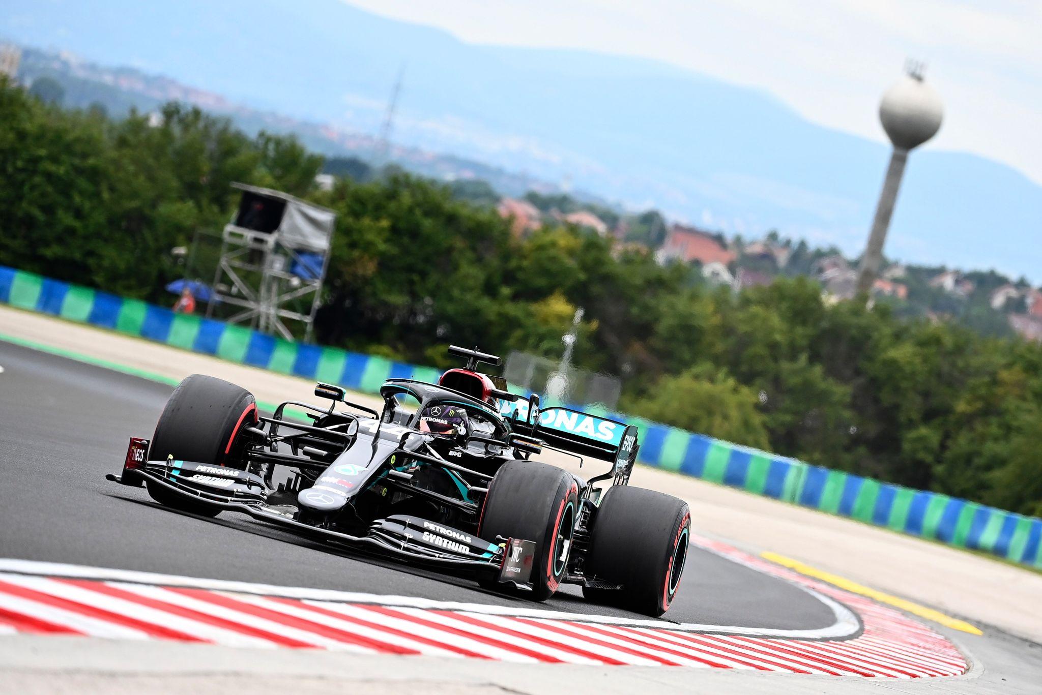 Kann die Anzahl seiner Rennerfolge auf dem Hungaroring auf 100 ausbauen: Lewis Hamilton.