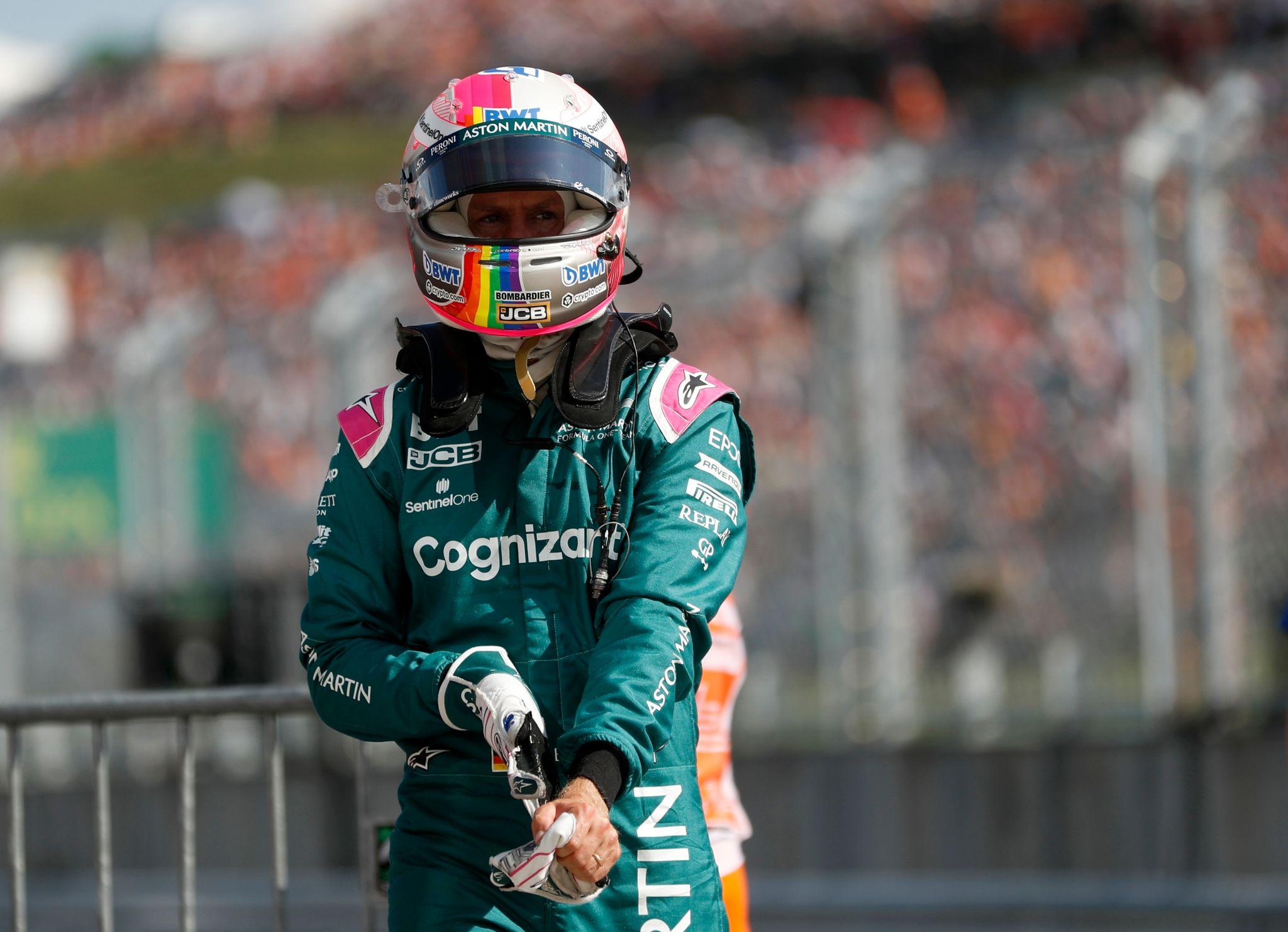 Sebastian Vettel vom Team Aston Martin wurde beim Großen Preis von Ungarn disqualifiziert.