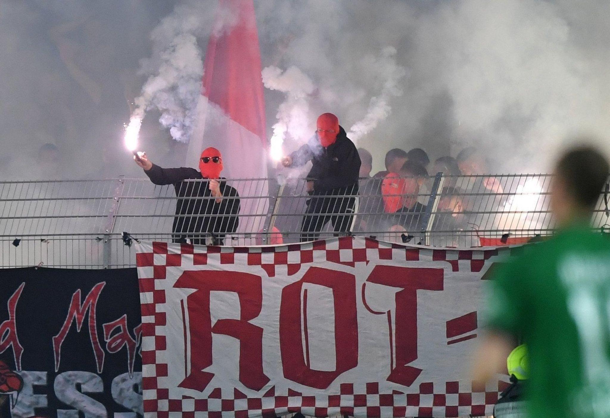 Fans von Rot-Weiss Essen sorgten für unschöne Szenen in Münster.