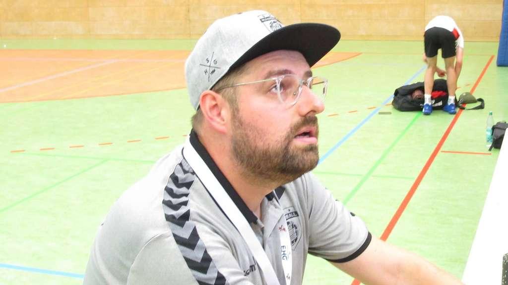 Coach Sascha Kunze von der HSG Verden-Aller.