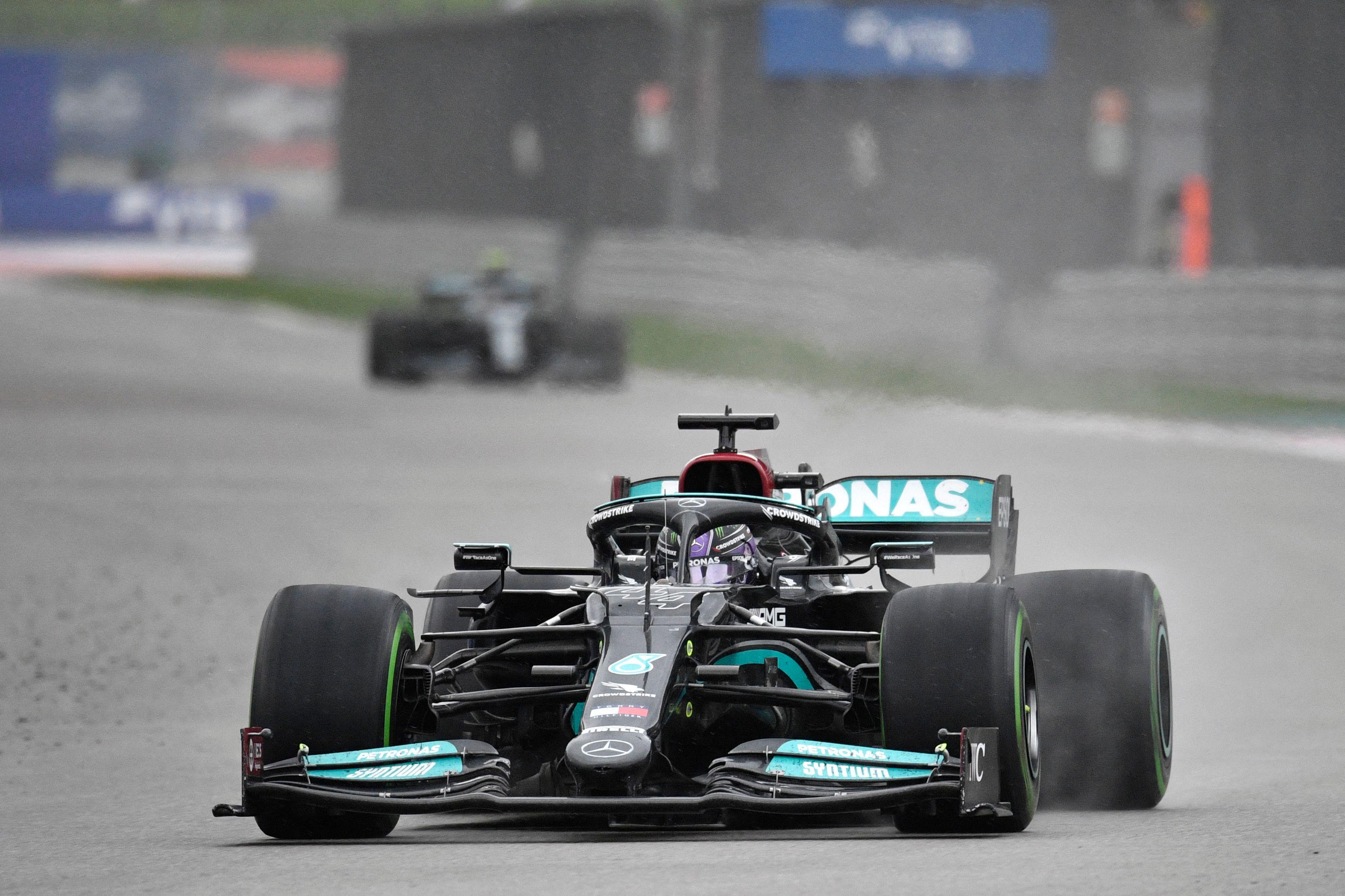 Lewis Hamilton holte sich seinen hundertsten Formel-1-Sieg.