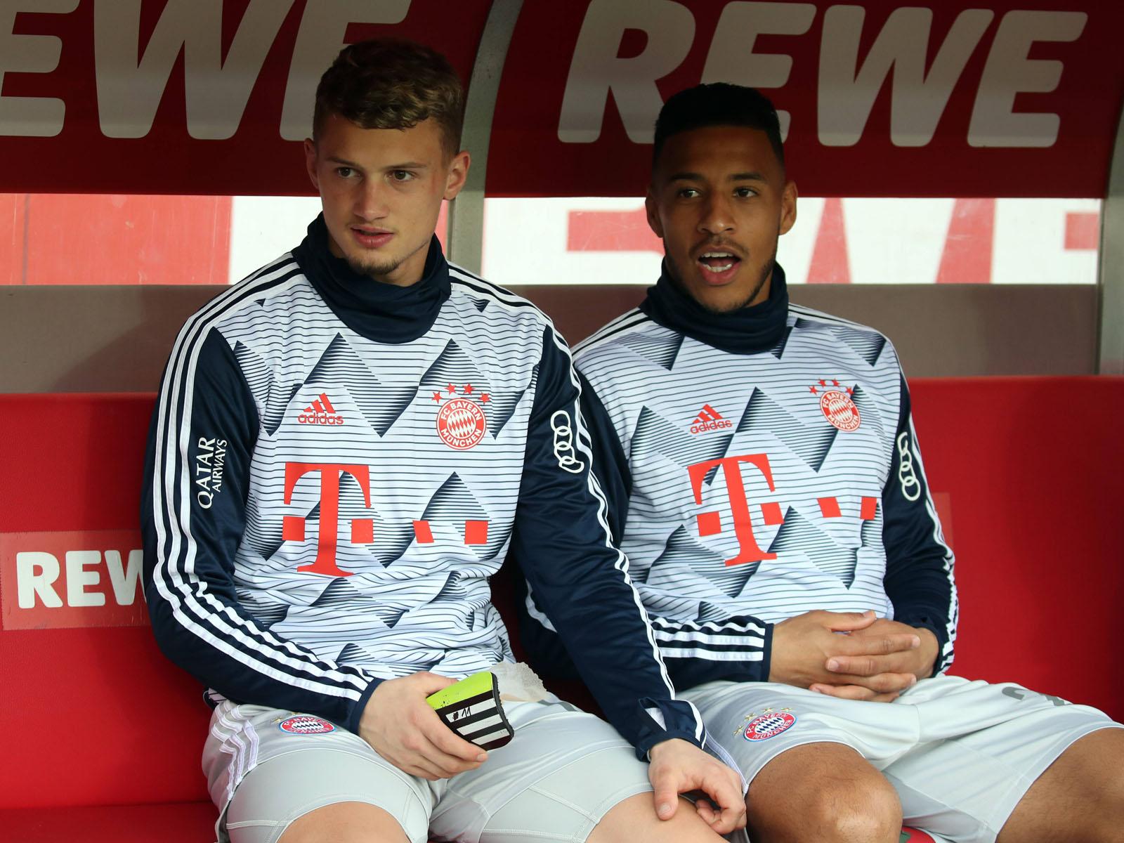 Michael Cuisance (l.) und Corentin Tolisso stehen beim FC Bayern aktuell hinten an.